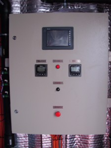 Touch Screen PLC Control